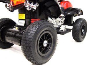 Детский электроквадроцикл Е005КХ-А на резиновых надувных колесах